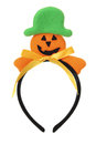 Jack-o-Lantern Head Band Royalty Free Stock Photos