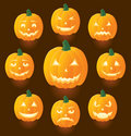 Jack O'Lanterns Royalty Free Stock Photo