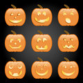 Jack-O-Lanterns Royalty Free Stock Photos