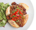 Jacket Potato with Chilli Royalty Free Stock Image