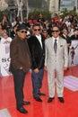 Jackie Jackson,Marlon Jackson,Tito Jackson,Michael Jackson,Jacksons Stock Image