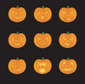 JackOLanterns Royalty Free Stock Photo