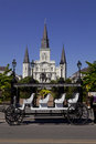 Jackson square french quarter of new orleans louisiana also known as place d armes is a historic park in the as seen from the Stock Photos