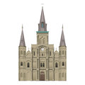 Jackson Square St Louis Cathedral Royalty Free Stock Photo