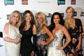 Jacksons,Toya,Kathy Hilton,Kim Richards,Kyle Richards,La Toya Jackson,LaToya Jackson,Paris Hilton Royalty Free Stock Photography