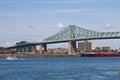 Jacques Cartier Bridge Spannin...