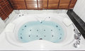 Jacuzzi bath tub Royalty Free Stock Photo