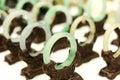 Jade bracelets Royalty Free Stock Photo