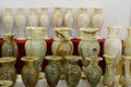 Jade vase vases in the shop china Royalty Free Stock Images