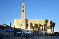 Jaffa israel isr oct st peter s church in old on oct the church is dedicated to saint peter that according to christianity lived Stock Photo