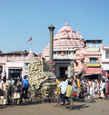 The Jagannath Temple in Puri Royalty Free Stock Images