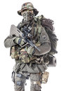 Jagdkommando soldier Austrian special forces Royalty Free Stock Photo