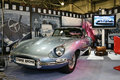 Jaguar E - type 1964 Royalty Free Stock Photos