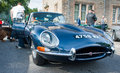 Jaguar E type Stock Photos