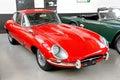 Jaguar E-Type Royalty Free Stock Photo