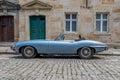 Jaguar E-Type 4.2 Royalty Free Stock Photo