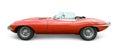 Jaguar E Type Royalty Free Stock Photo