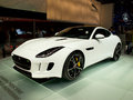 Jaguar f type geneva th salon de l auto s is ideally a modern version of what the e has been in the sixties the british gt Stock Photos