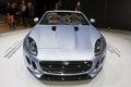 Jaguar F-Type Cabriolet - Geneva Motor Show 2013 Stock Images