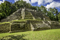 Jaguar Temple, side angle Royalty Free Stock Photo