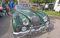 Jaguar XK 140 at Motormania Royalty Free Stock Photo
