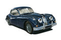 Jaguar XK140 Stock Image