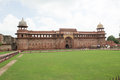 Jahangiri mahal agra fort was the principal zenana palace for women belonging to the royal household and was used mainly by the Stock Image
