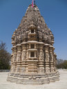 Jain Temple in Ranakpur Stock Images