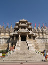 Jain Temple in Ranakpur Royalty Free Stock Photo