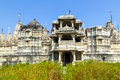 Jain Temple in Ranakpur, India Royalty Free Stock Photography