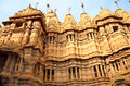 Jain temples in jaisalmer india Stock Photo