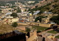 Jaipur City Houses Royalty Free Stock Images