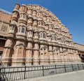 Jaipur hawa mahal the pink palace in rajasthan Royalty Free Stock Image