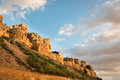 Jaisalmer fort the palace in which lies in the rajasthan desert in india Stock Photos