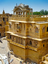 Jaisalmer Palace Royalty Free Stock Photo