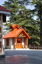 Jakhoo temple at shimla himachal pradesh india hill Stock Images