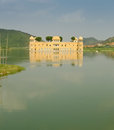 Jal Mahal palace Royalty Free Stock Images