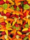 Jalapeño peppers Royalty Free Stock Photos
