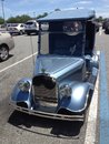 Jalopy cool looking golf cart Royalty Free Stock Images