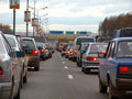 Jam 1 road Zdjęcie Stock