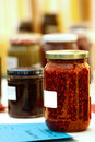 Jam and fruit preserve Stock Photography