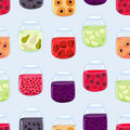 Jam pattern Stock Photography