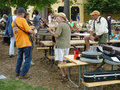 Jam Session at the Folk Festival Royalty Free Stock Photography