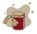 Jam - vector illustration Stock Photography