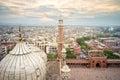 Jama masjid in new delhi Royalty Free Stock Photo