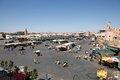 Jamaa el Fna Marrakesh Royalty Free Stock Photo