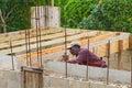 Jamaican Carpenter Royalty Free Stock Photo