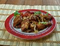 Jamaican Jerk Pork Shoulder Royalty Free Stock Photo