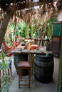 Jamaican jungle bar small tropical Stock Photo