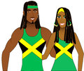 Jamaican People Royalty Free Stock Photo